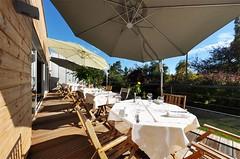 Djeuner en terrasse, quelque part dans les Vosges (www.larochette-hotel.fr) Tags: terrasse djeuner