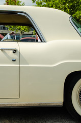 Continental bump (GmanViz) Tags: door roof color detail car nikon automobile profile continental fender 1956 gmanviz d7000