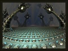 The Dark Dimension (bloorose-thanks 4 all the faves!!) Tags: abstract art digital 3d render fractal mandelbulb