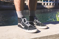 (Wade Stofko) Tags: chicago water wall canon river photography rebel 50mm photo shoes die or lifestyle off skate vans product assistant fifty nifty otw hypebeast t2i instagramapp