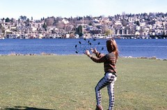 Day 072/365 - Spinning Things (Great Beyond) Tags: park woman sunlight water girl grass female 50mm march slide slidefilm 35mmfilm spinning fujifilm lakeunion 365 slides e6 3000v gasworkspark canonrebelti 2016 canonef50mmf14usm fujiprovia100f fujichromeprovia100f project365 canoneosrebelti colorreversal canoneosrebel3000v march2016