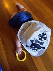 pirate (quinn.anya) Tags:  pirate skull crossbones math mathpirate baby crawling paul