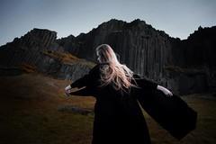 Feel the storm (nne) Tags: portrait woman girl fairytale dark hair landscape dynamic stones magic mystical magical kramer mystic krmer kraemer annekrmer annekraemer
