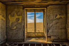 Fulfillment of Dreams (KPortin) Tags: windows wallpaper abandoned field view decay abandonedhouse deteriorated grantcounty