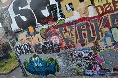 9/23/2014 Free Wall (sixheadedgoblin) Tags: spray roller publicart awake olympiawashington freewall dzert freewallwide2