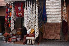 Marrakesh Morocco-Medina-Rug Shop.2016 (Julia Kostecka) Tags: morocco marrakech souk medina marrakesh