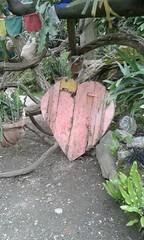 my heart will go on (martini_bianca) Tags: herz heart cuore coeur holz kunst arte giardino botanico italia italy italien gardasee gardone hruschka heller grten botanische garten natur art martinibianca