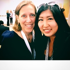 Susan Wojcicki, CEO of YouTube, knows women who went thru @Hackbright Academy! Great hearing her entrepreneurial insights at #GES2016 (thisgirlangie) Tags: women susan who great her went ceo academy hearing knows thru entrepreneurial youtube wojcicki insights hackbright ges2016