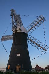 June sunset at Holgate Windmill - 1