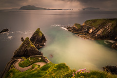 Dunquin Pier, Co.Kerry, Ireland (cs82photography) Tags: longexposure sea canon landscape rocks 6d 10stop