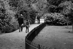 Park Life (phoebe.horner) Tags: park trees people white black colour tree monochrome fence landscape photography landscapes photo photographer view edited greenwich royal parks fences squirrell cutty sark