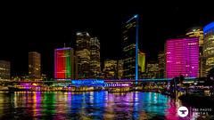 tinfoil (The Photo Smithy) Tags: night lights sydney australia sydneyharbour vivid2016