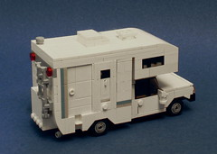 Camper (Zachary Bean) Tags: lego vehicle van rv camper