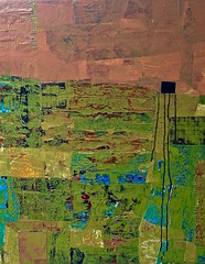 Home (Patti Agapi) Tags: texture mixedmedia abstractpainting canadianart mixedmediapainting abstractlandscape