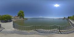 (360x180) Lindau Bodensee Panorama 30 (Andriy Golovnya (redscorp)) Tags: lindau bodensee panorama 360x180 lake constance bayern bavaria germany deutschland equirectangular