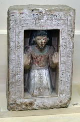 Naos of Nakht-Amun (konde) Tags: limestone 18thdynasty hieroglyphs thebes statuette ancientegypt naos newkingdom nakhtamun