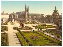 00942u (DenjaChe) Tags: dresden sachsen 1900 postcards 1900s postkarten ansichtskarten