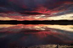 Lever du jour sur la riviere Saguenay 13-06-2016 (gaudreaultnormand) Tags: red cloud canada abstract sunrise river rouge quebec explore ciel fjord nuage saguenay leverdesoleil leefilter gense riviere cffaa