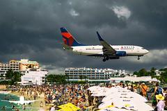 Delta Airlines B737-700_AS5J1669 (RJJPhotography) Tags: aviation caribbean sxm princessjulianainternationalairport saintmaarten avgeek