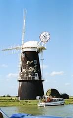 Berney Arms Windmill Circa 1990 (bertie's world) Tags: windmill arms great norfolk bernie yarmouth