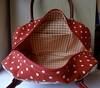 Boston Bag (OrangeZoo) Tags: red roses handmade handbag cathkidston