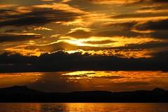 No city, no nightlife, but the sky (yarin.asanth) Tags: trip light summer water colors night germany boat warm flickr kayak waves alone sundown happiness silence late balance lakeconstance eveningmood southerngermany openyourheart yarinasanth gerdkozik