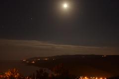 Moonlight serenade (mdw2704) Tags: longexposure light sea moon water night mond licht meer nacht croatia hrvatska rabac istra kroatien istrien kvarner lzb isria