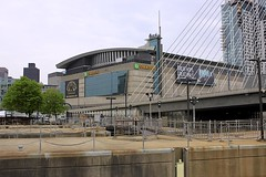 TD Garden (oxfordblues84) Tags: building boston architecture massachusetts arena bostonbruins bostongarden bostonmassachusetts leonardpzakimbunkerhillmemorialbridge tdgarden designgroupdesigntrip