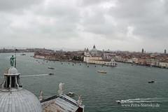 Ausblick vom Glockenturm San Giorgio Maggiore (petrastarosky) Tags: italien urlaub venedig sangiorgiomaggiore 2016