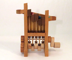 PistonStepper1 (Shmails) Tags: sculpture wooden handmade machine kinetic marble