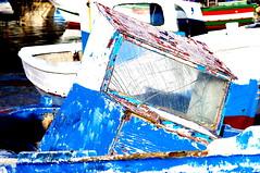 Old Boat (Tomas Pfeifer) Tags: old blue italy boat favignana