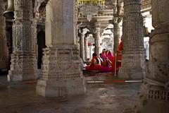 (Rick Elkins Trip Photos) Tags: india rajasthan ranakpur jain temple worship women