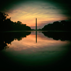All Our Questions Blur Together (Thomas Hawk) Tags: usa america sunrise washingtondc districtofcolumbia unitedstates fav50 unitedstatesofamerica washingtonmonument fav10 fav25 fav100