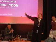 John Lydon, London 2016 (Paul-M-Wright) Tags: new uk music london june rock sex john punk library centre culture wave stuart johnny conference british 24 rotten pistols 2016 lydon punklondon bbc6 maconie aneveningwithjohnlydon johnrambostevens punk197678