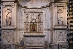 Siena - Cathedral Piccolomini Altar North Aisle (Le Monde1) Tags: city horses italy nikon cathedral unesco worldheritagesite altar rivers tuscany siena stmary elsa palio pilgrims piccolomini piazzadelduomo d610 northaisle arbia santamariaassunta merse viafrancigena lemonde1