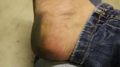 dirty feet - indoor 581 (dirtyfeet6811) Tags: feet barefoot soles dirtyfeet dirtysoles blacksoles