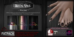 Koffin Nails - Fatpack - Pulse (Limited Edition) (bcreativewilde) Tags: darkpassions koffinnails slink secondlife slfashion maitreya omegaapplier