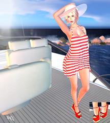 ~130~ Come Sail Away (Ana ~ Fashion Graffiti Blog) Tags: fashion monalisa secondlife ikon tableauvivant cae maitreya lelutka collabor88 7deadlys{k}ins {zoz} kinkyevent lwposes lrstudios