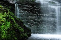 Waterfall Macro II (tomcanon68) Tags: water canon waterfall canon100mmmacro bushkillfalls canon40d canon100mm28ismacro