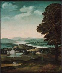 Landscape with Grazing Donkey (lluisribesmateu1969) Tags: landscape rotterdam 16thcentury museumboijmansvanbeuningen patinir
