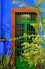 JKN©-16-N70-5692 (John Nakata) Tags: mexico mexicocity df coyoacan fridakahlomuseum coyoacán doorinbluehouse