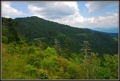 Blue Ridge Parkway - Explore #173 (Jerry Jaynes) Tags: sky clouds nc northcarolina explore blueridgeparkway waterrockknob plottbalsams nikkor1685vr