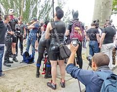 bootsservice 16 460871 (bootsservice) Tags: paris leather orlando uniform boots rubber des bottes motos uniforme motorcyclists cuir motards caoutchouc motorbiker pride gay marche fierts