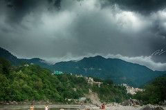 Lucky Monsoon (The.Expressionist) Tags: trip travel memories solo monsoon meditation hdr ganga ganges traveler rishikesh meandmycamera solotravel hdrphotography theexpressionist triptoremember sumitphotography