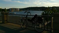 In Porsgrunn (gunnsteinlye) Tags: bicycle norway quest recumbent skien cruzbike
