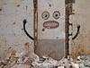 the boogeyman (maximorgana) Tags: cartagena dirty trashbit boogeyman bogeyman scary open mouth