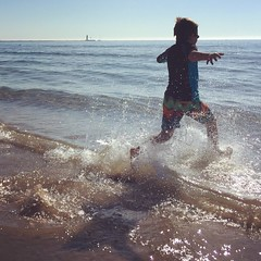 (Ryan Dickey) Tags: morning summer sun beach luke lakemichigan freshwater coldwater
