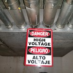 danger high voltage sign thumbnail