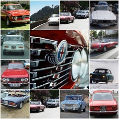 ALFA ROMEO | 1960s & 70s (iBSSR who loves comments on his images) Tags: cars sports spider fdsflickrtoys 60s 2000 milano super 1600 junior alfa romeo 1750 gtv 70s gt gta sprint ti coupe giulia 1300 pininfarina zagato bertone sedans veloce duetto 4doors specialbodied