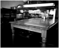 Deli table (erica ceae) Tags: 120film diafine 444 kodak400tx mamiyarz67 65mmlens